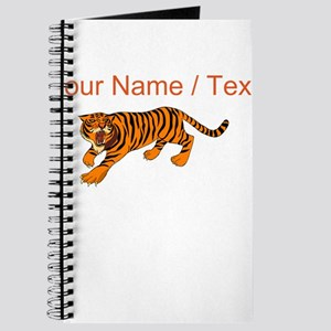 Custom Bengal Tiger Journal
