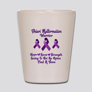 Chiari Malformation Shot Glass