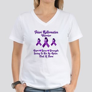 Chiari Malformation Women's V-Neck T-Shirt