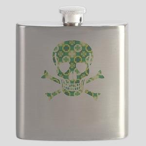 Arrish Irish Pirate Skull And Crossbones Flask