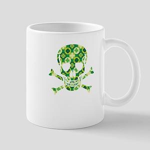 Arrish Irish Pirate Skull And Crossbones Mugs