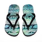 Dreamy Tribal Flip Flops