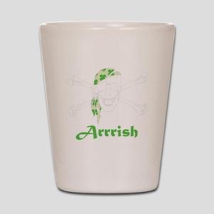 Arrish Irish Pirate Skull And Crossbones Shot Glas