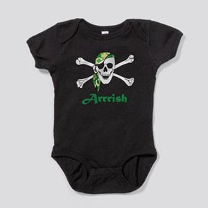 Arrish Irish Pirate Skull And Crossbones Baby Body
