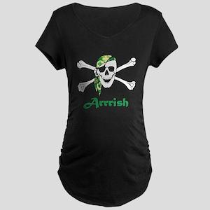 Arrish Irish Pirate Skull And Crossbones Maternity