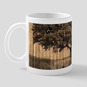 vintage oak tree modern decor Mug