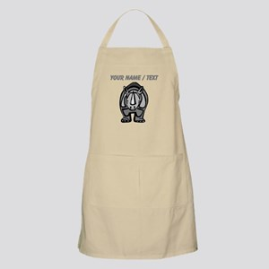Custom Cartoon Rhinoceros Apron