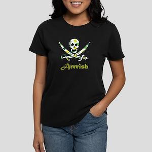Arrish Irish Pirate Calico Jack Skull T-Shirt