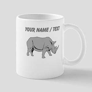 Custom Grey Rhino Mugs