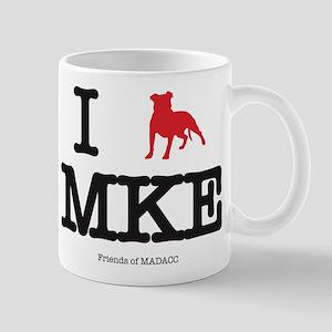 "I ""pit bull"" Milwaukee Mugs"