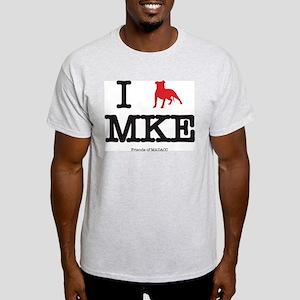 "I ""pit bull"" Milwaukee T-Shirt"