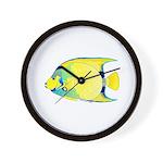 Queen Angelfish Wall Clock