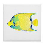 Queen Angelfish Tile Coaster