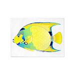 Queen Angelfish 5'x7'Area Rug