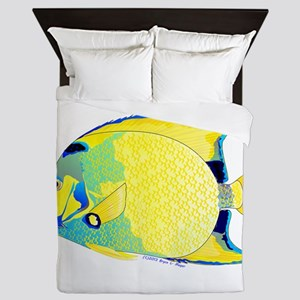Queen Angelfish Queen Duvet