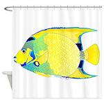 Queen Angelfish Shower Curtain