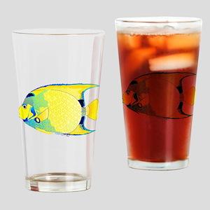 Queen Angelfish c Drinking Glass