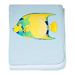Queen Angelfish c baby blanket