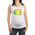 Queen Angelfish c Maternity Tank Top