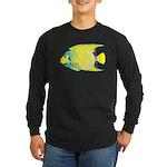 Queen Angelfish c Long Sleeve T-Shirt