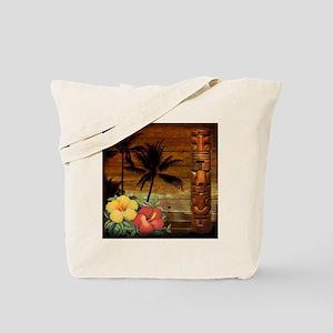 passion flower hawaii totem Tote Bag