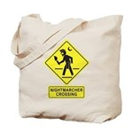 Nightmarcher Crossing Tote Bag