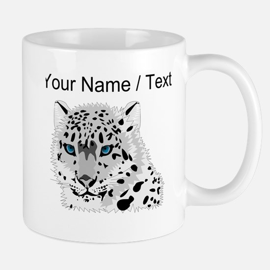 Custom Snow Leopard Mugs