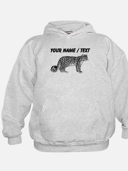 Custom Leopard Sketch Hoodie