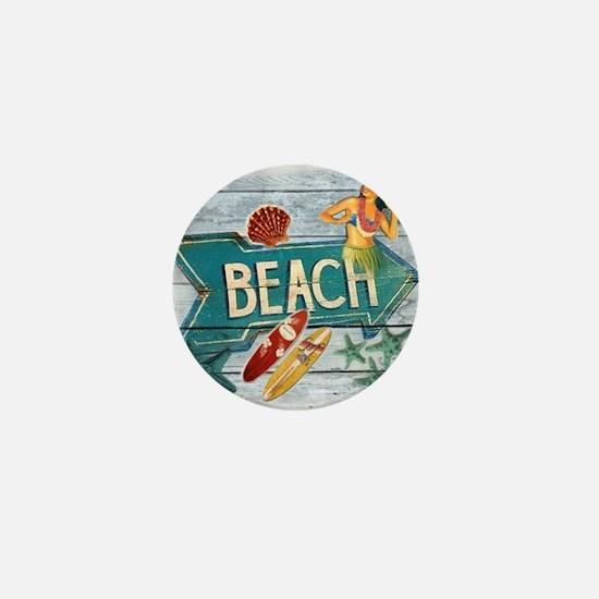 surfer beach fashion Mini Button