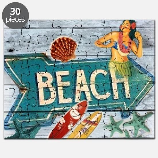 surfer beach fashion Puzzle