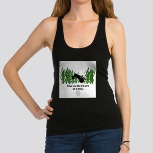 1/4 Acre at a time Racerback Tank Top