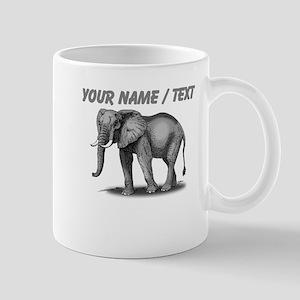 Custom African Elephant Mugs