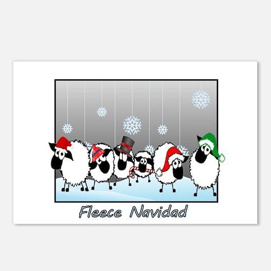 Fleece Navidad Postcards (Package of 8)