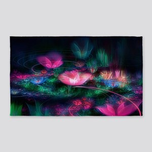 Fairy Flowers Area Rug