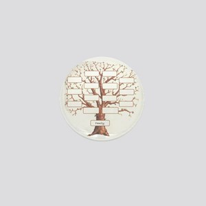 Family Tree Mini Button