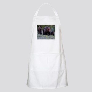 MAMMA GRIZZLY and 3 CUBS Apron