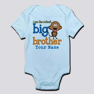 Custom Big Brother Monkey Infant Bodysuit