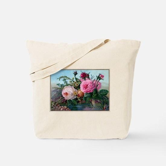 Cute Roses Tote Bag