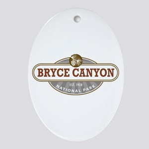 Bryce Canyon National Park Ornament (Oval)