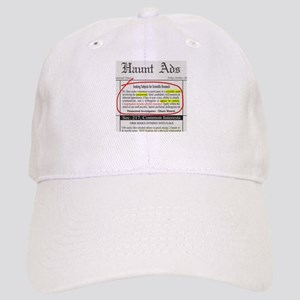 Haunt Ads: Ghosts Wanted Cap