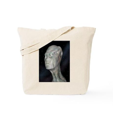 Alien (grey man) Tote Bag