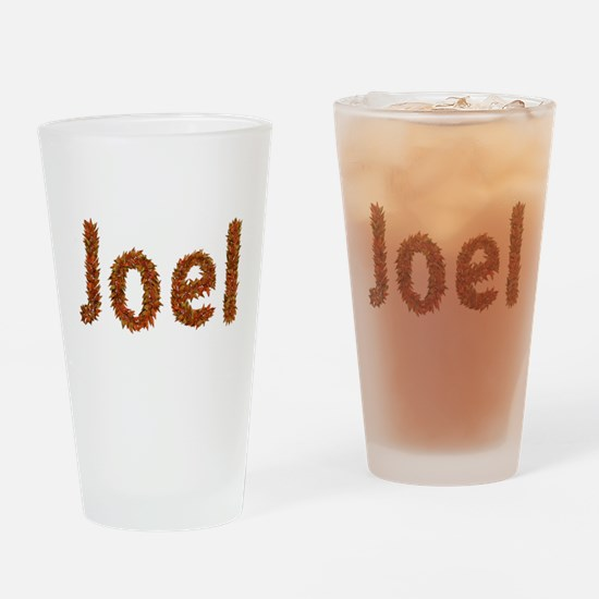 Joel Fall Leaves Drinking Glass