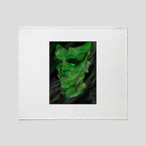 Modern day Frankenstein . Throw Blanket