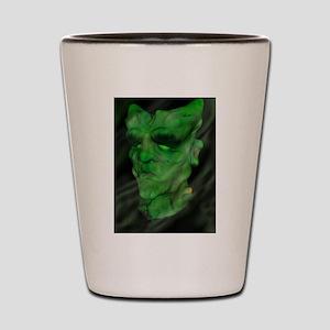 Modern day Frankenstein . Shot Glass