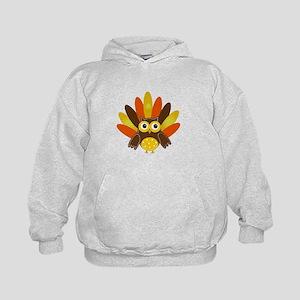 Thanksgiving Owl Hoodie