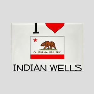 I Love Indian Wells California Magnets