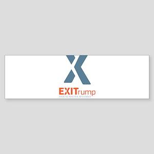 EXITrump Bumper Sticker