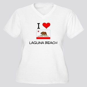 I Love Laguna Beach California Plus Size T-Shirt