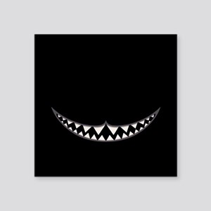 "Cheshire Grin II Square Sticker 3"" x 3"""