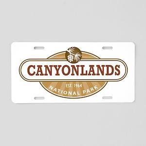 Canyonlands National Park Aluminum License Plate